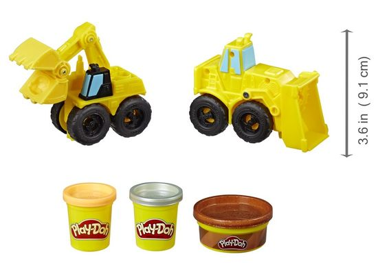 Play-Doh Wheels Kőfejtés
