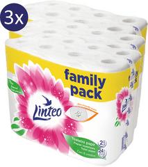 LINTEO Toaletní papír zelený 3 x 16 rolí 3-vrstvý