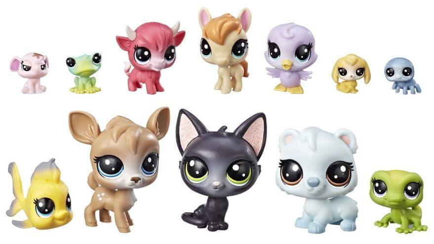 Littlest Pet Shop Velké balení zvířátek - Donuts