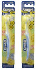 Oral-B KIDS kartáček Baby Soft 4–24 měsíců 2 ks