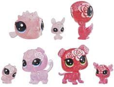 Littlest Pet Shop Květinová zvířátka 7 ks růže