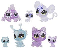 Littlest Pet Shop Květinová zvířátka 7 ks hortenzie