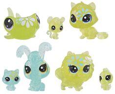 Littlest Pet Shop Květinová zvířátka 7 ks sedmikráska