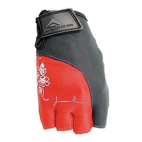 cfd418e0bb9 POLEDNIK Rukavice Lady Fitness dámské - červené velikost
