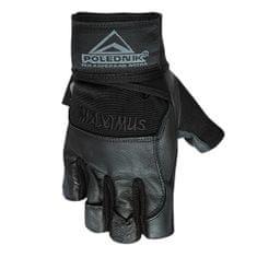 POLEDNIK Fitness rukavice Maximus s omotávkou - S
