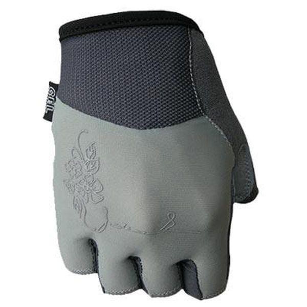 8afa26d58a8 POLEDNIK Cyklistické rukavice Chloris dámské - šedé velikost S