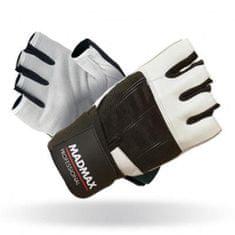 Mad Max Fitness rukavice Professional 269 - bílé