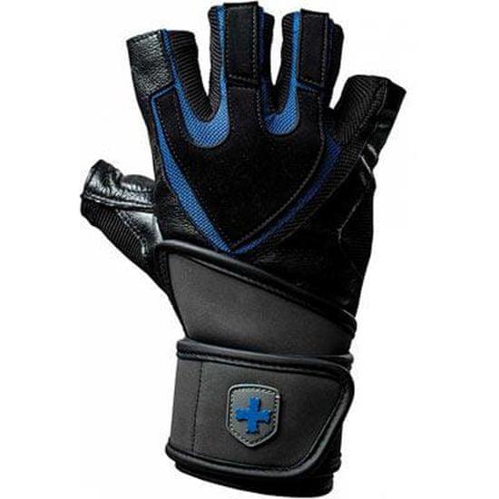 Harbinger Rukavice 125 WristWrap s omotávkou - černo-modré