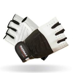 Mad Max Fitness rukavice Clasic 248 - bílé