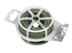 Vázací drát Zn+PVC s odstřihem, kulatý - délka 50 m