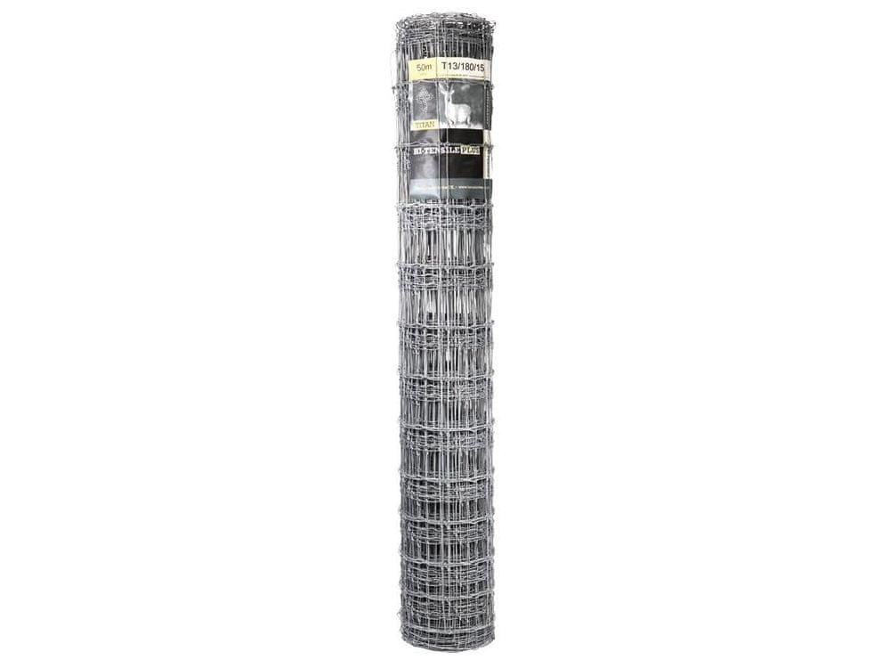 Uzlové pletivo TITAN Zn 2000/14/150 - výška 200 cm