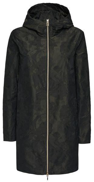 Geox dámský kabát Gritah S tmavě zelená