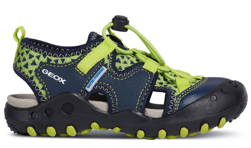 Geox chlapecké sandály Kyle 34 modrá