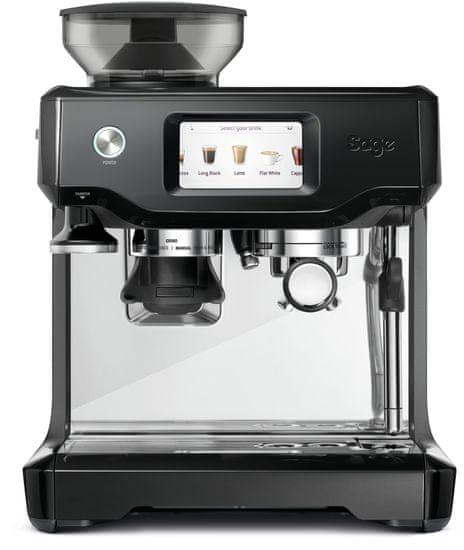 SAGE automatický kávovar SES880BKS černá