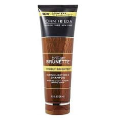 Šampón pre lesk hnedých vlasov Brilliant Brunette Visibly Brighter (Subtle Light ening Shampoo) 250