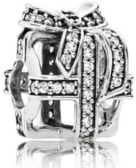 Pandora Stříbrný korálek Dárek 791766CZ stříbro 925/1000