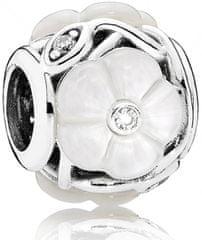 Pandora Luxus gyöngy gyöngy virág 791894MOP ezüst 925/1000