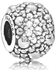 Pandora Třpytivý korálek 791755CZ stříbro 925/1000