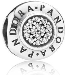 Pandora Stříbrý korálek Pandora 791414CZ stříbro 925/1000