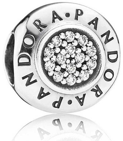 Pandora Srebrny koralik Pandora 791414 CZ srebro 925/1000