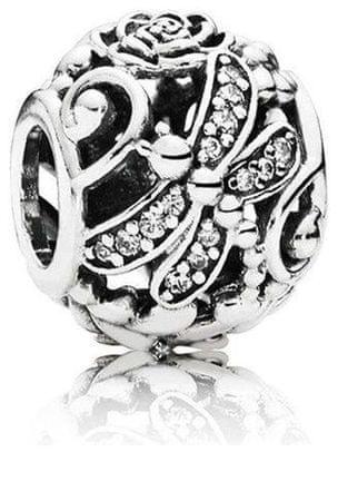 Pandora Srebrny Koralikowy Smok 791733 CZ srebro 925/1000
