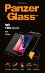 PanzerGlass steklo in ovitek za iPhone 6/7/8, črno