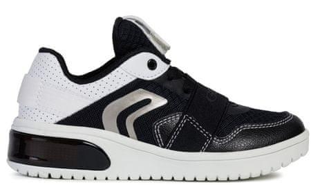 Geox chlapecké tenisky XLED 31 černá/bílá
