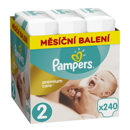 Pampers Premium Care 2 Mini Pelenka 240 db