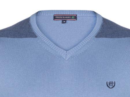98285a5f196e FELIX HARDY pánský svetr XL modrá