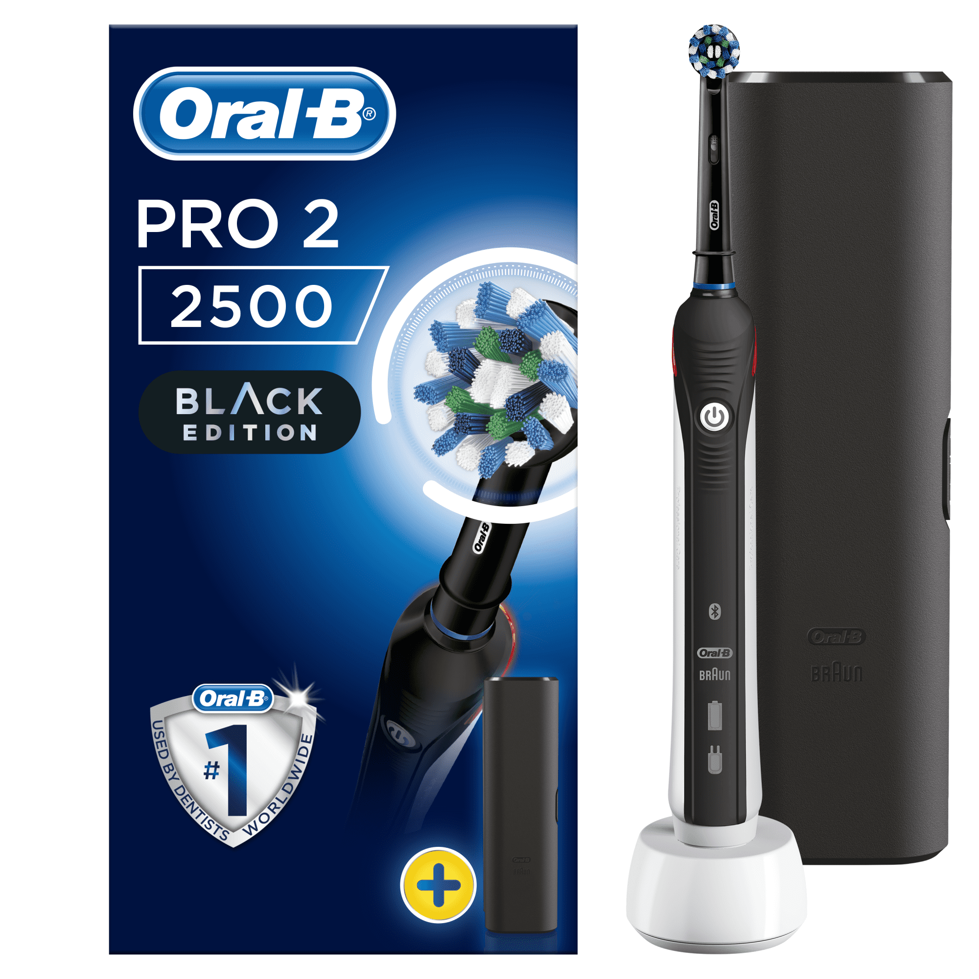 Oral-B Pro 2 2500 Black Edition Cross Action