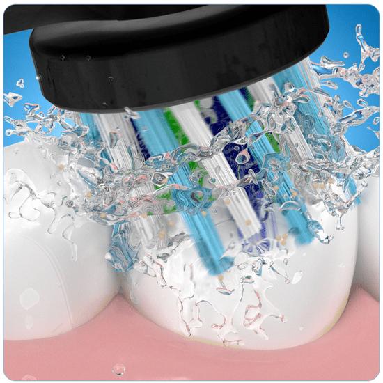 Oral-B električna zubna četkica 4500 SS CA Black + TravelCase