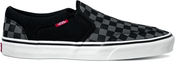 Vans Mn Asher Checkers Black 44.0
