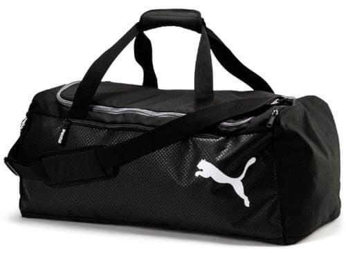083d82b3c Puma Fundamentals Sports Bag M black 57L | MALL.SK