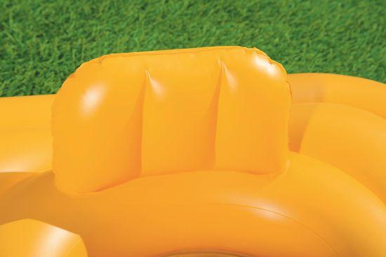 Bestway napihljivi otroški sedež z naslonjalom Step A, 76cm x 76cm