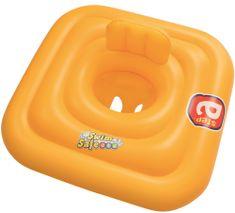Bestway Dmuchane siedzisko dla dzieci z oparciem Step A, 76 cm x 76 cm