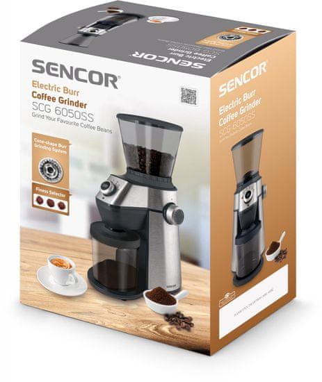 SENCOR električni mlin za kavu SCG 6050SS