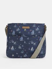 Brakeburn tmavě modrá crossbody kabelka s motivem plachetnic