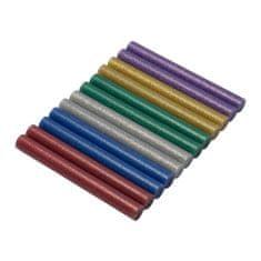 ASIST Tavné patróny 11 mm, farebné s trblietkami - 12 ks