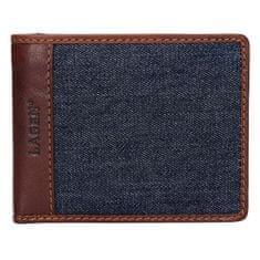 Lagen Férfi bőr pénztárca 3960 Brown