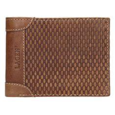 Lagen Pánská kožená peněženka 5435 Cognac
