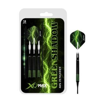 XQMax Darts Šipky Green Shadow - 18g