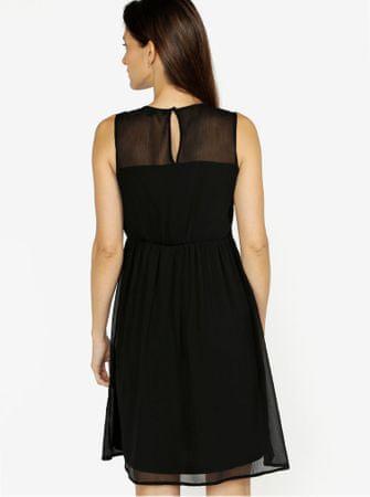 c85a2f63c04 Vero Moda černé šaty s krajkou Dacey XL