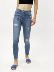 8073881760c Miss Selfridge světle modré super skinny džíny s vysokým pasem