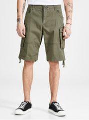 Jack&Jones khaki comfort fit kraťasy s kapsamiChop