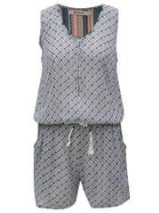 Rip Curl šedo-modrý dámský vzorovaný overal