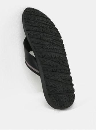 Tommy Hilfiger černé pánské kožené žabky 44  8e703b1bd7