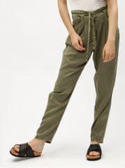 Vero Moda khaki volné kalhoty se zavazováním Breeze d50db2e4a3