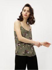 Vero Moda khaki květované tílko Simply