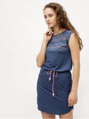 Ragwear tmavě modré šaty se vzorem Valencia 399d7d7228
