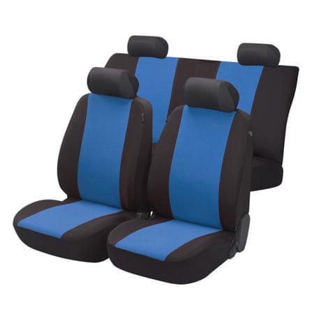 Walser zestaw pokrowców na siedzenia Flash - niebieski